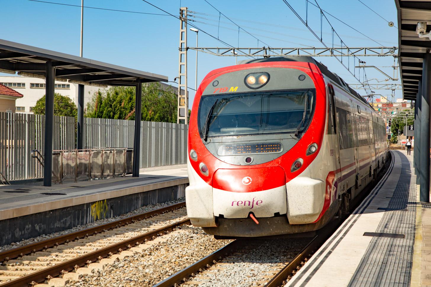 Met de trein naar Spanje reizen
